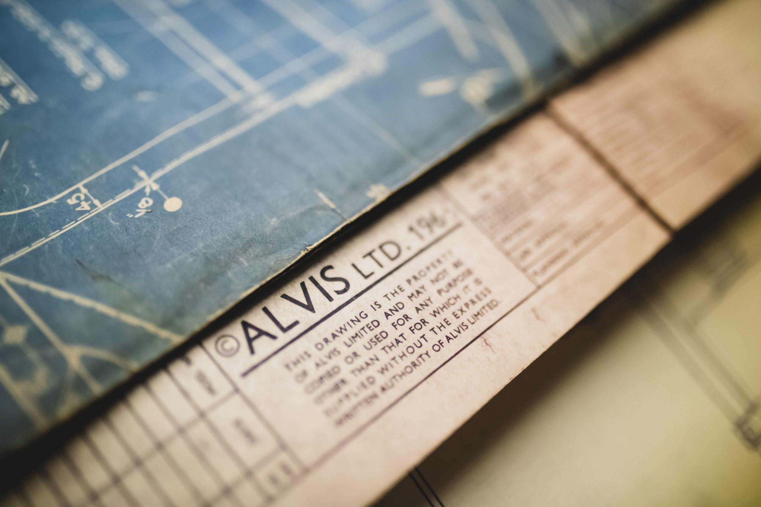 alvis vintage car drawings drafts close