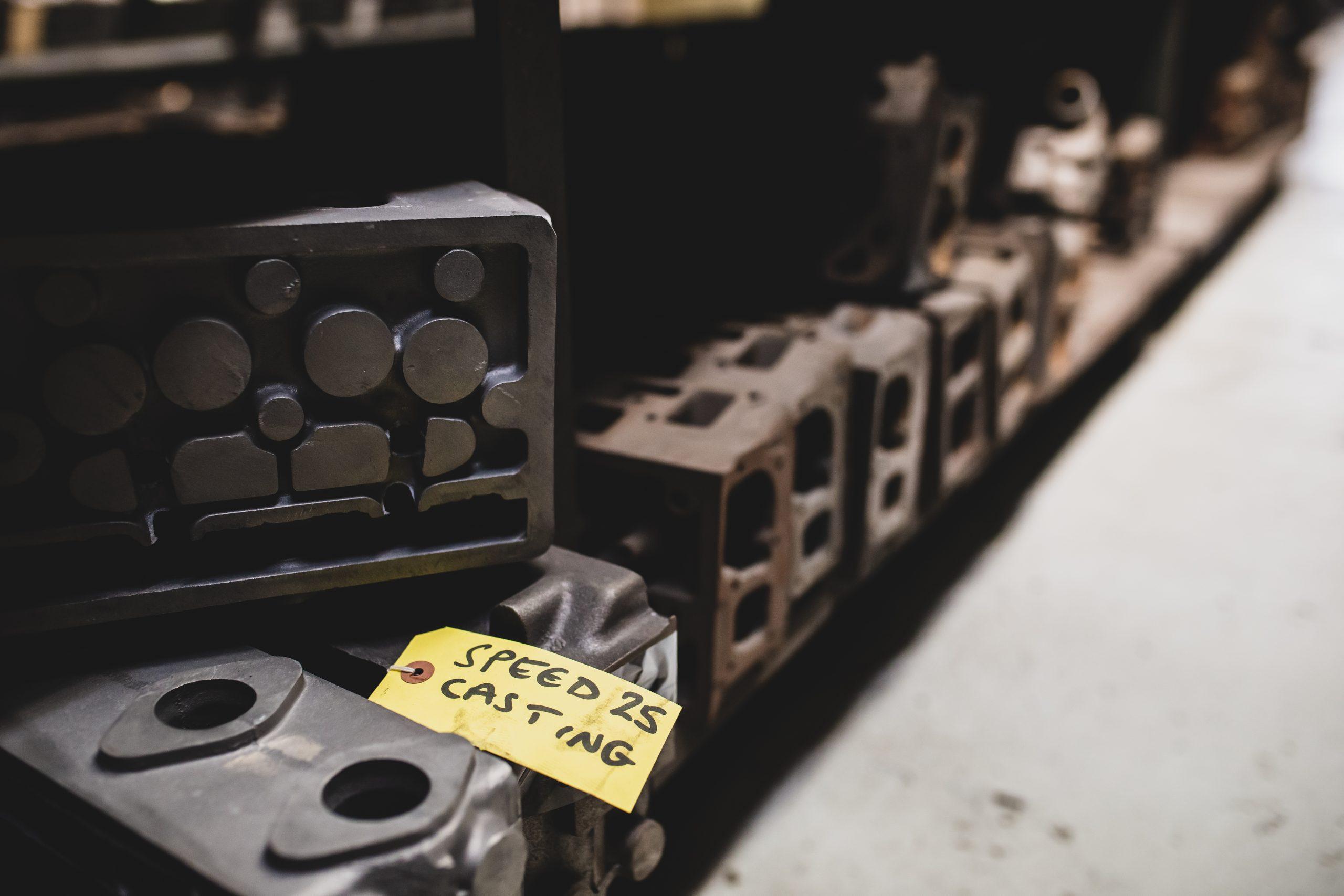 alvis factory casting molds