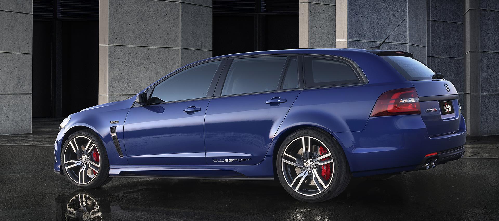 HSV ClubSport R8 Tourer LSA profile Holden wagon