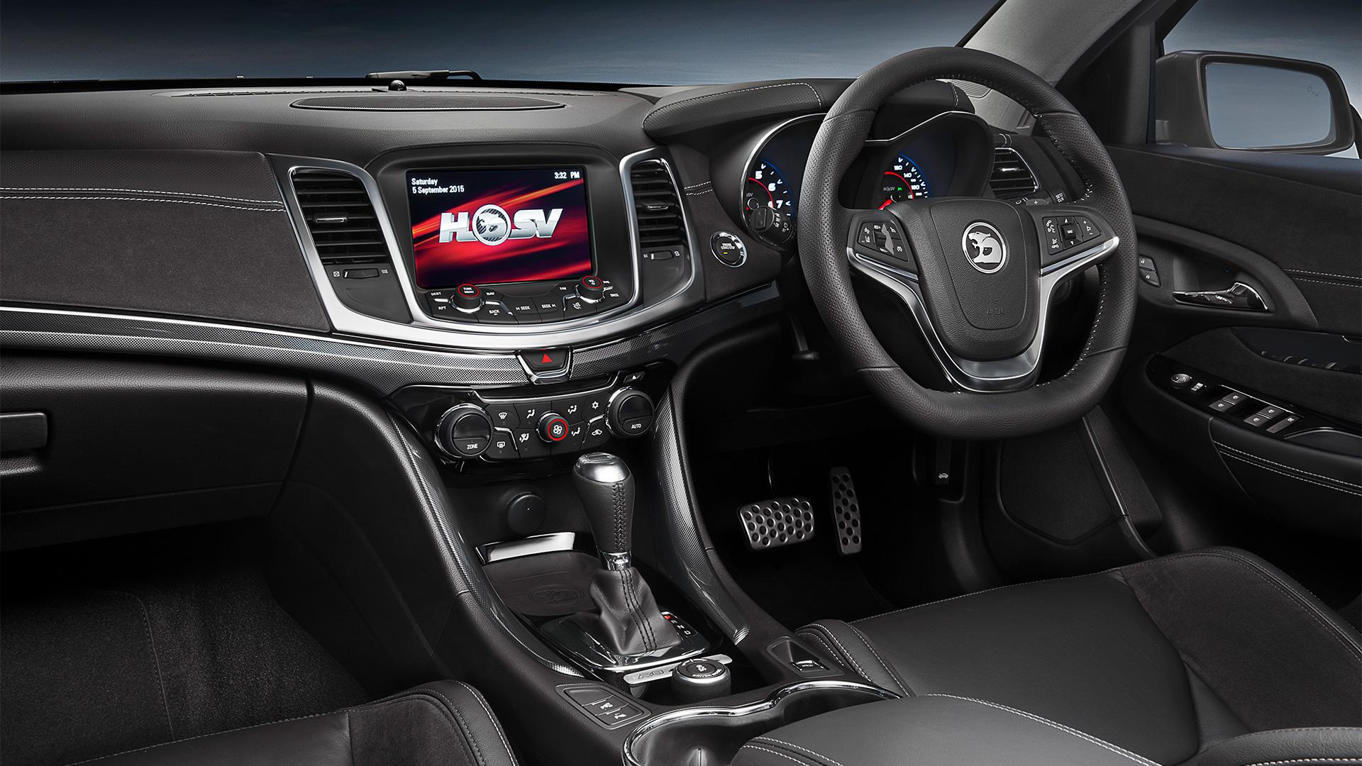 HSV ClubSport R8 Tourer LSA interior Holden wagon