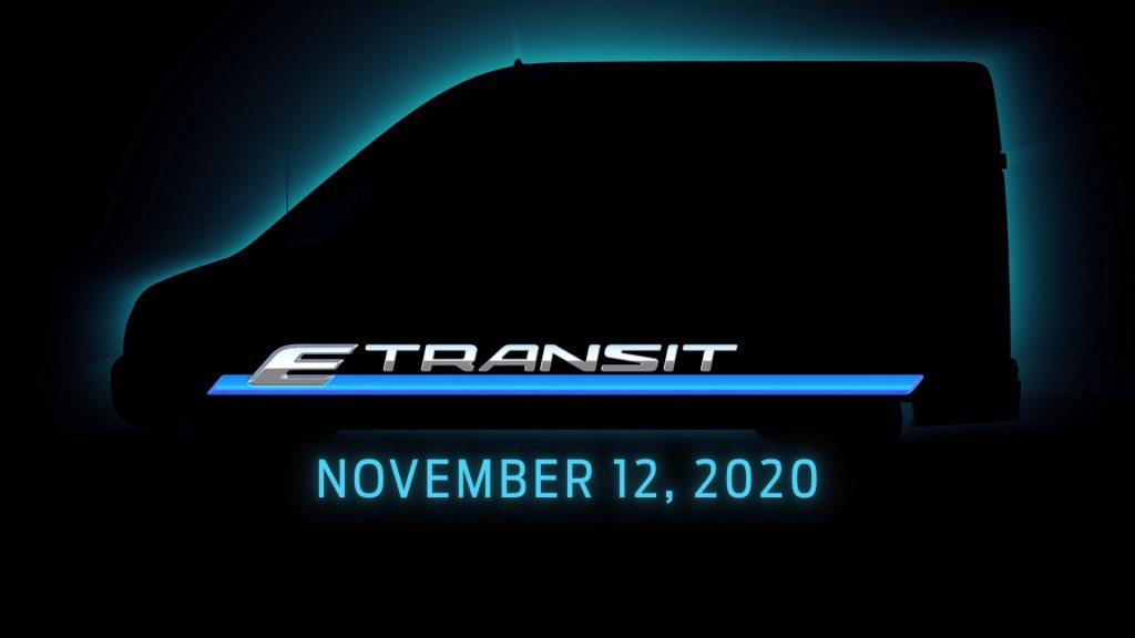 Ford E-Transit silhouette