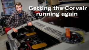 Getting the Corvair running, again | Kyle's Garage Ep. 14