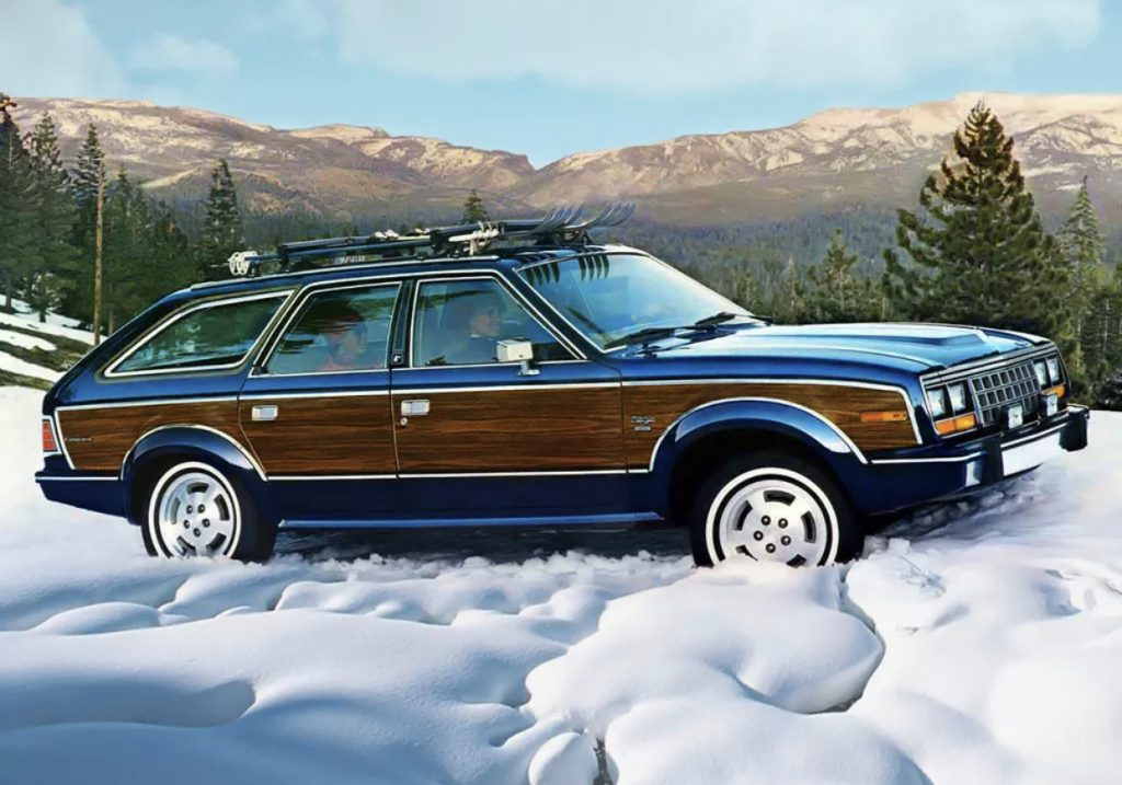 AMC Eagle wagon snow