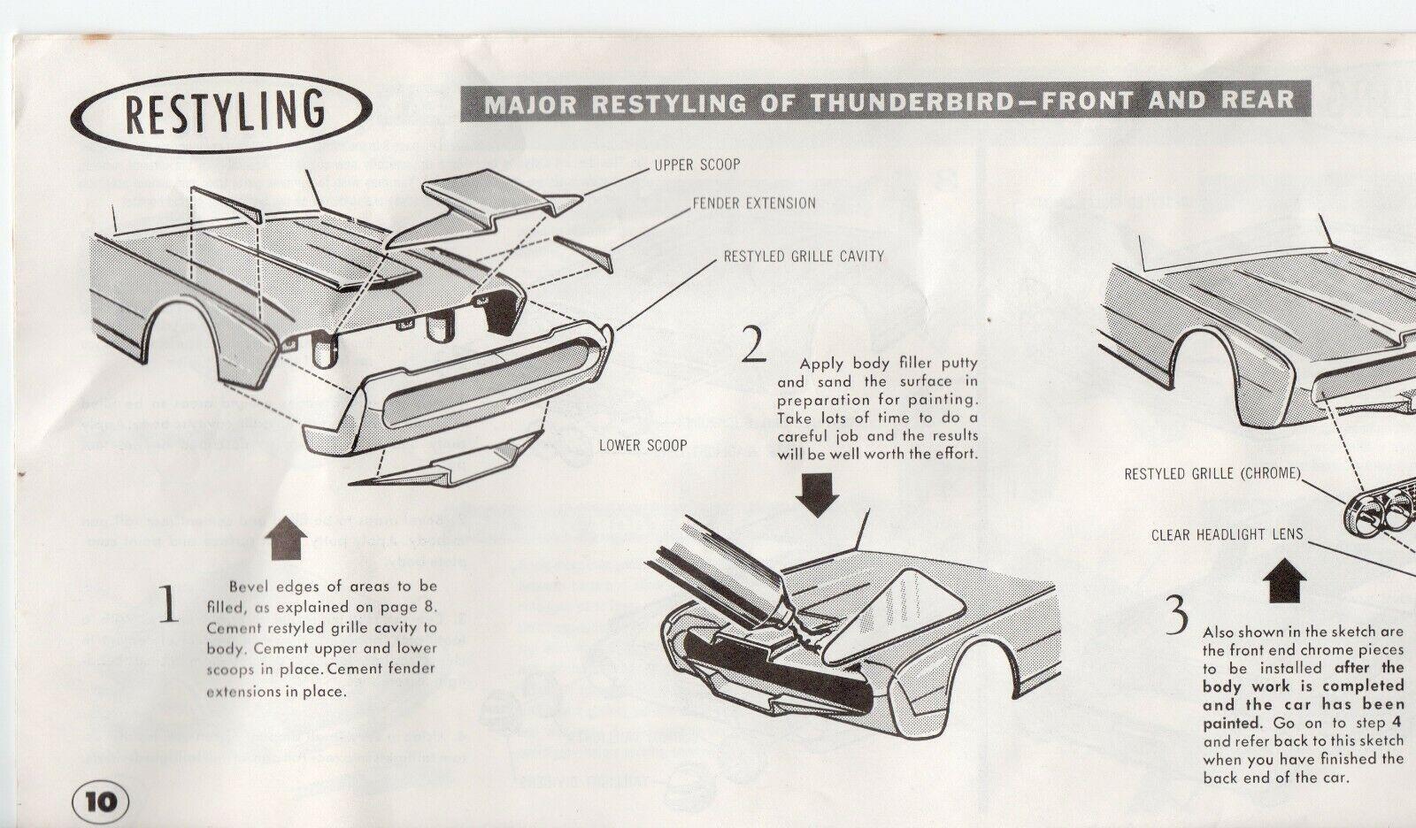 vintage model car history