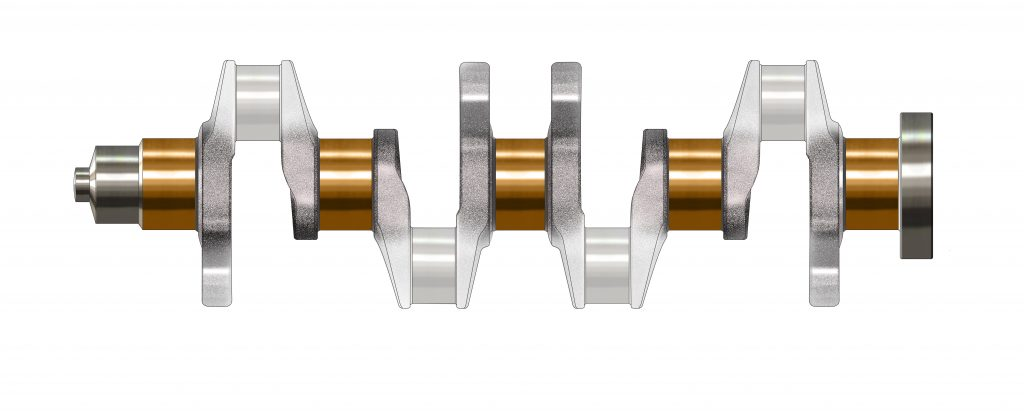 m10 main bearing crankshaft