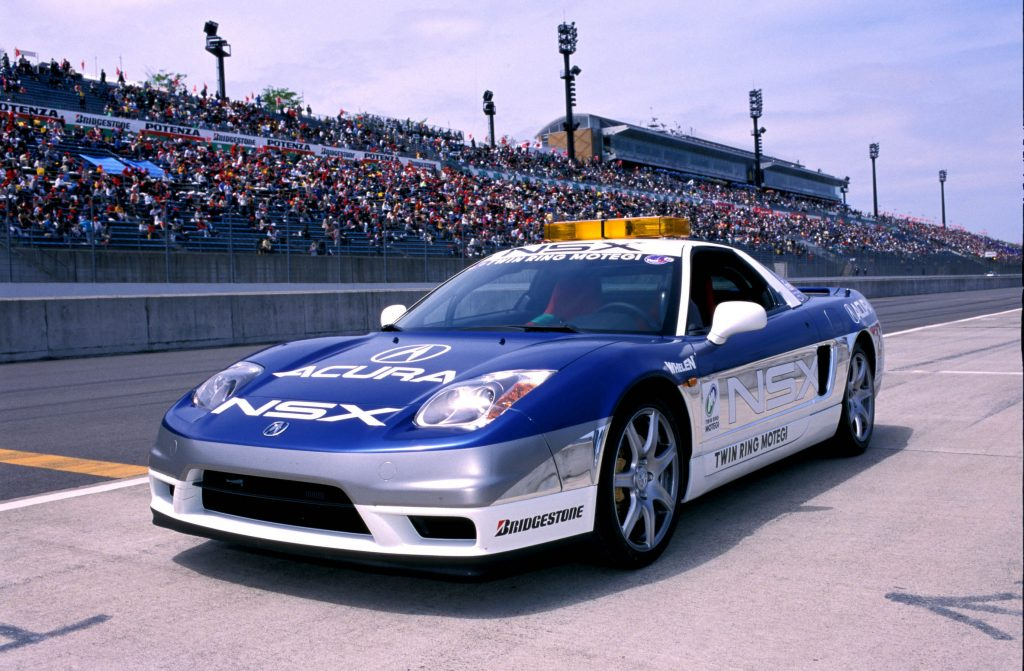 Acura NSX pacecar for Twin Ring Motegi