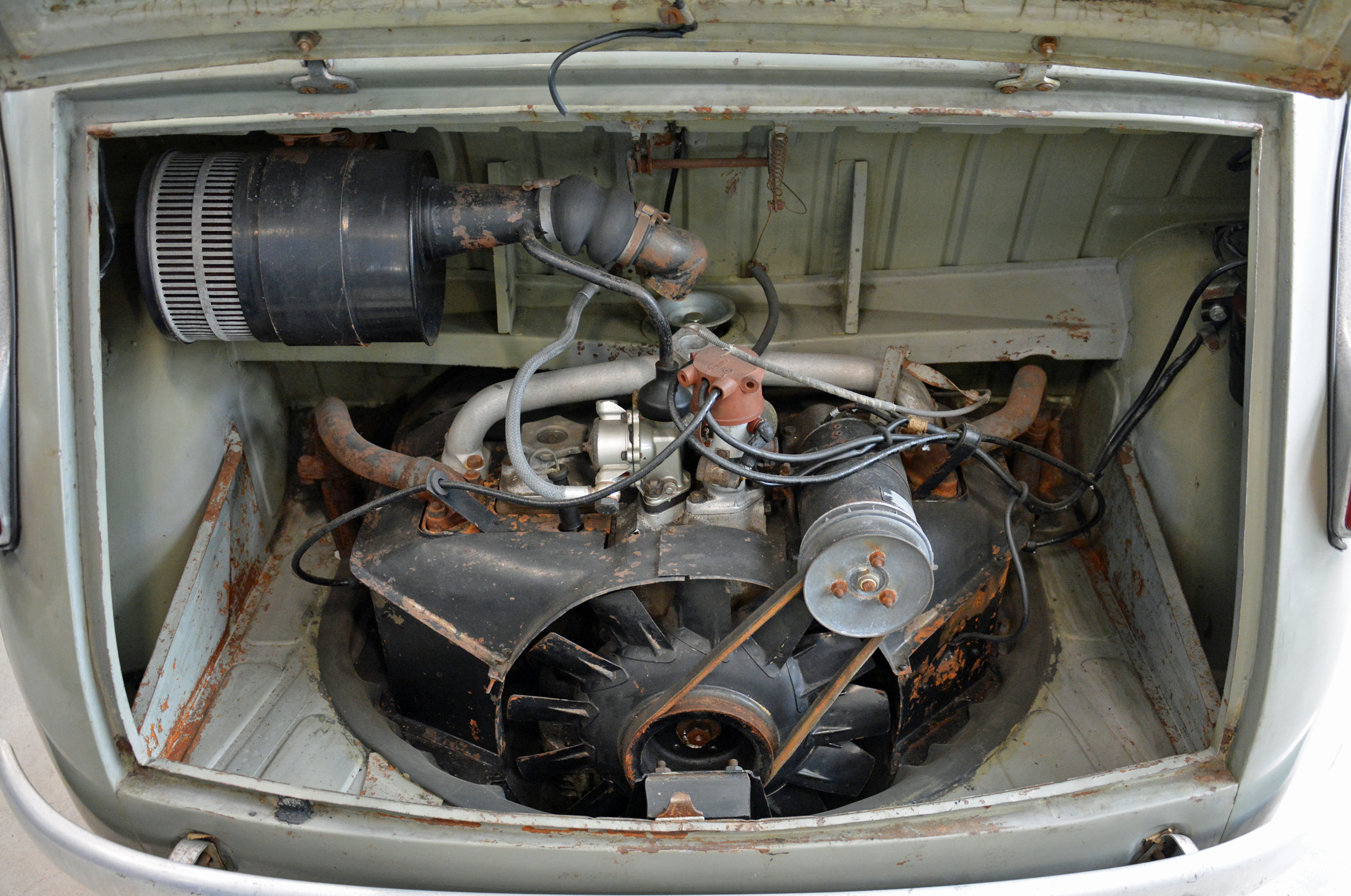 1951 fiat 100 prototype engine