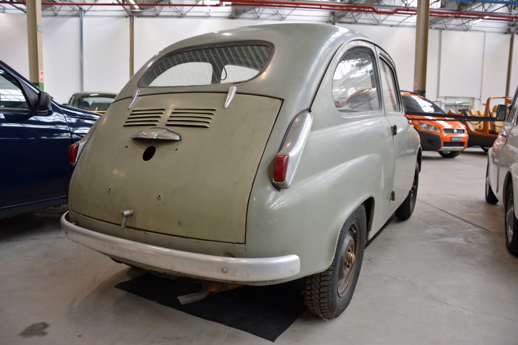 1951 fiat 100 prototype rear three-quarter
