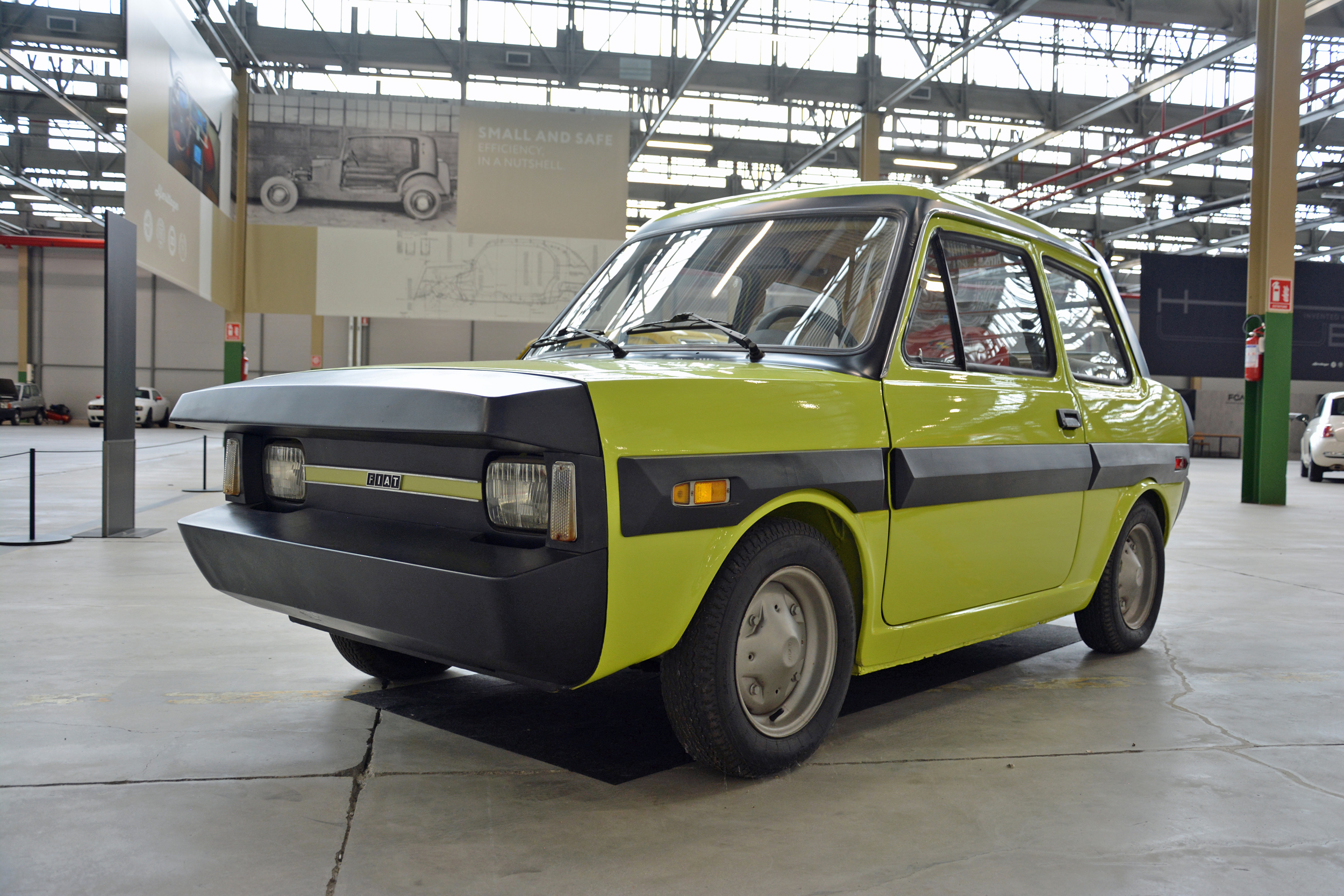 1972 fiat esv 1500 front three-quarter
