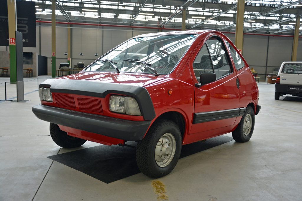 1984 lancia trevo bimotore front three-quarter