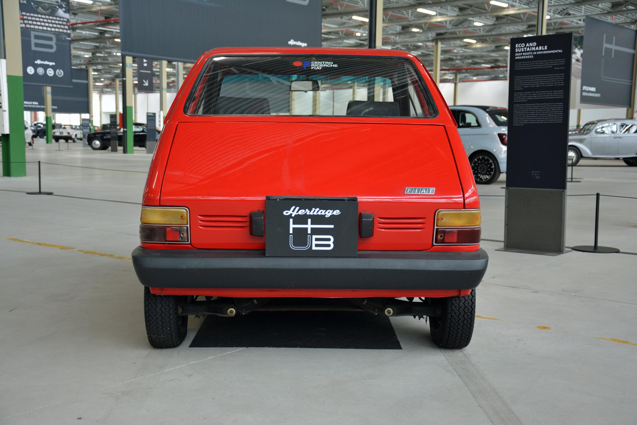 1984 lancia trevo bimotore rear