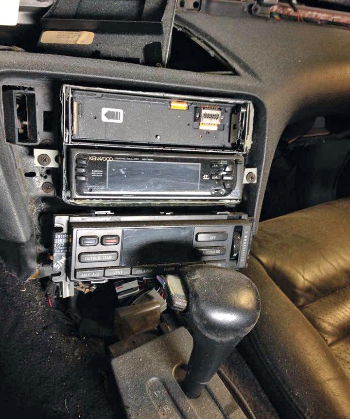 1995 Lincoln Mark VIII interior restore