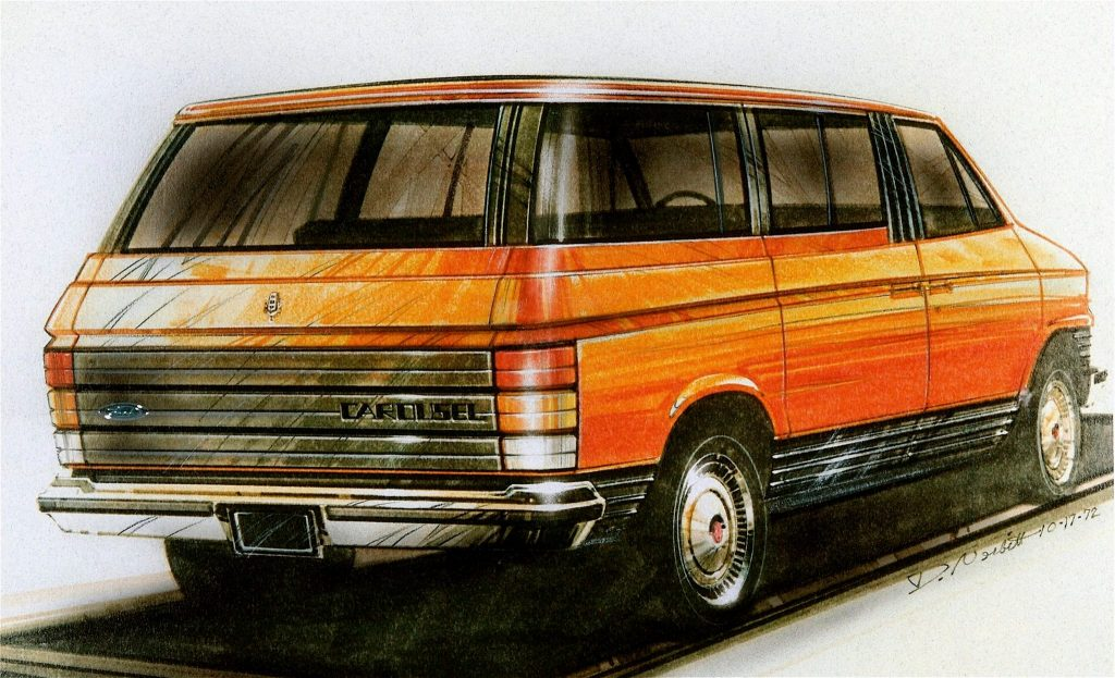 1972 Ford Carrousel study sketch