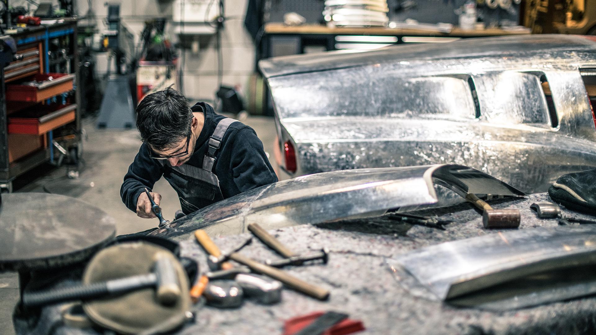 Breadvan body work rear shape
