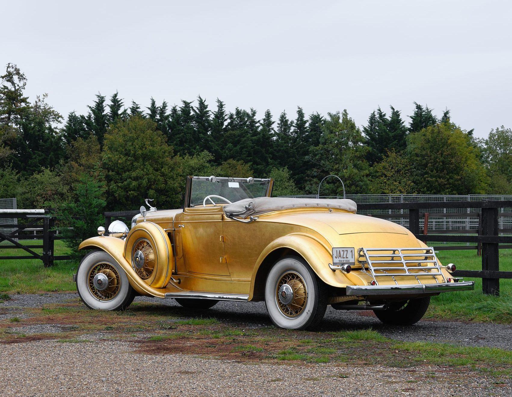 1931 Cadillac V-8 Convertible Coupe rear three-quarter