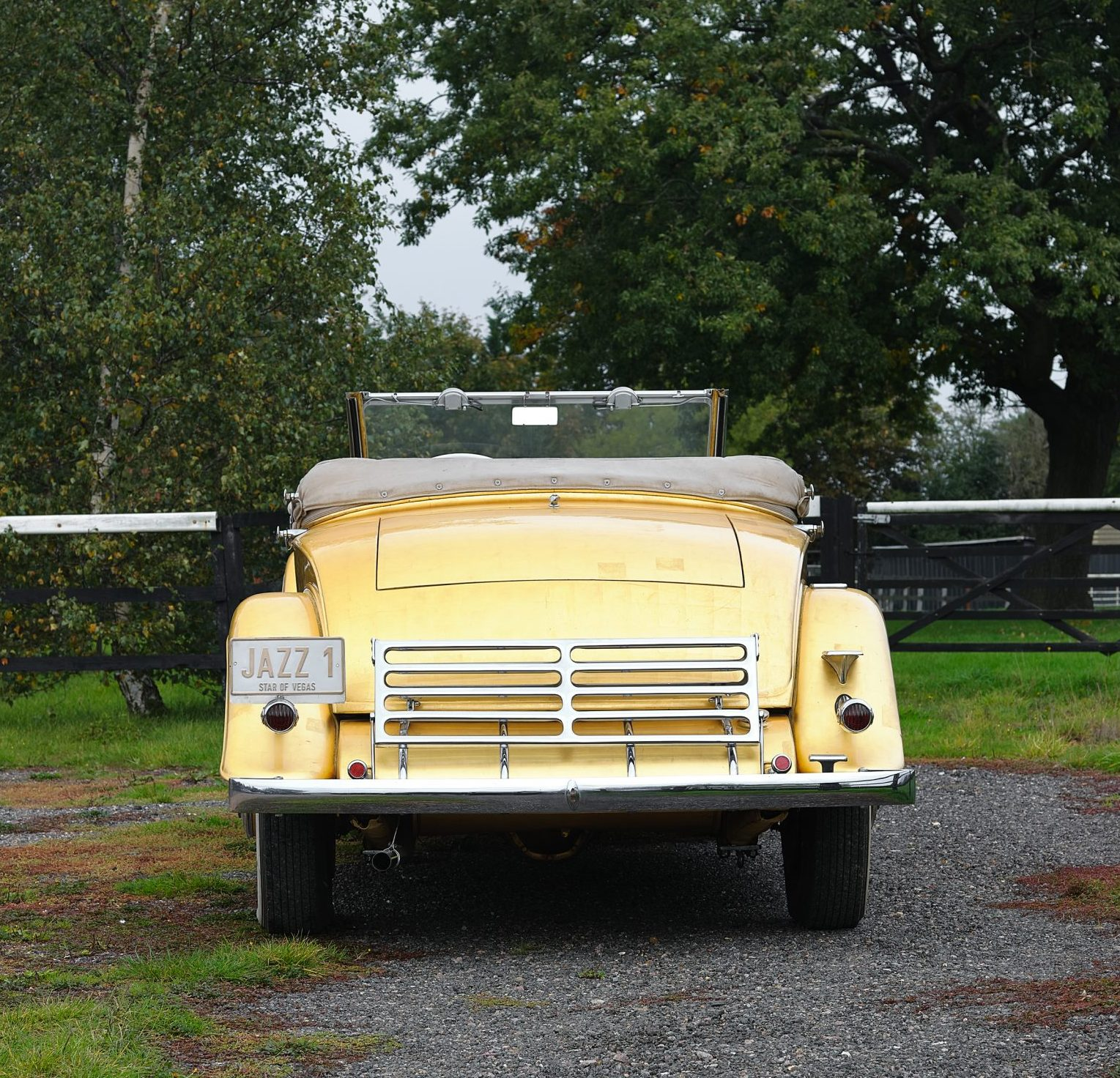 1931 Cadillac V-8 Convertible Coupe rear