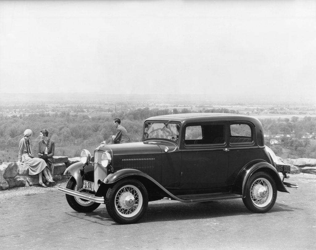 1932 Ford Victoria 2-door model B190