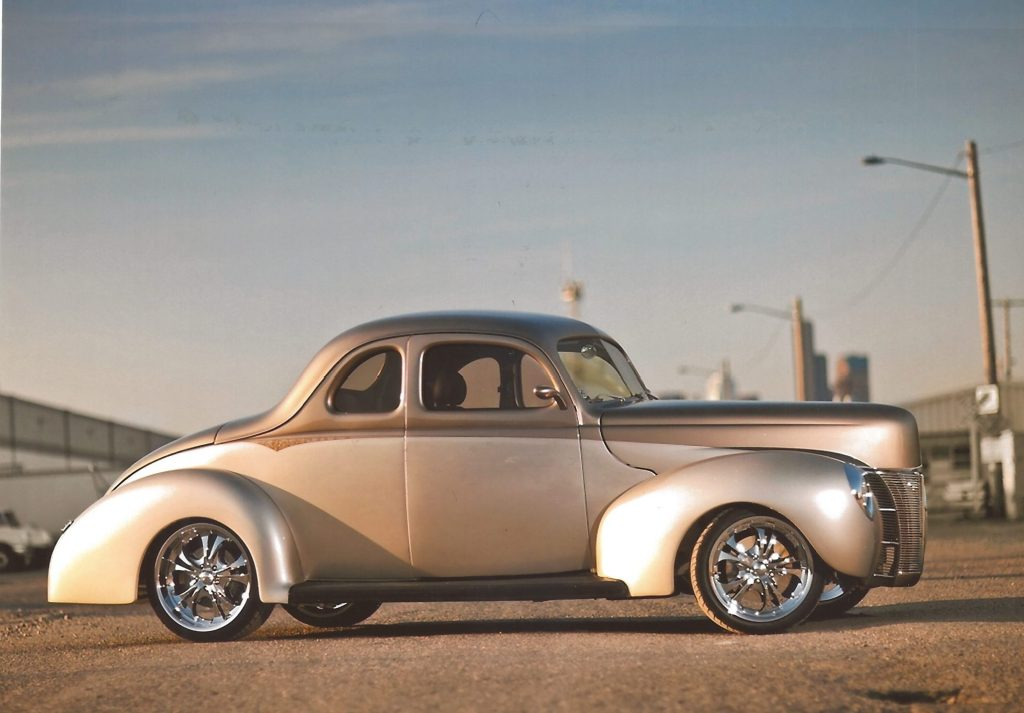 1940 ford deluxe thumper side profile