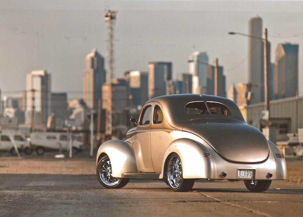 1940 ford deluxe thumper rear three-quarter