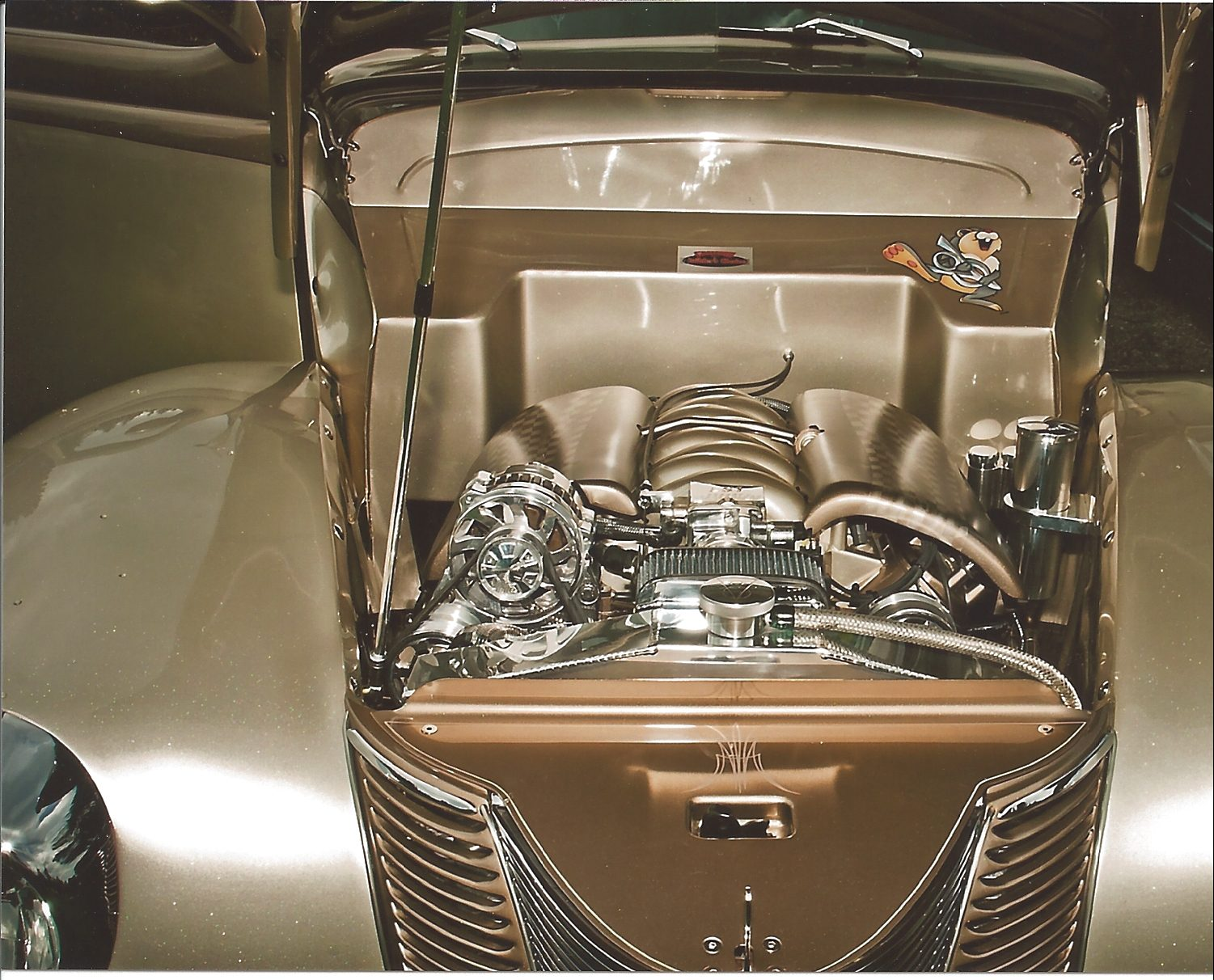 1940 ford deluxe thumper engine
