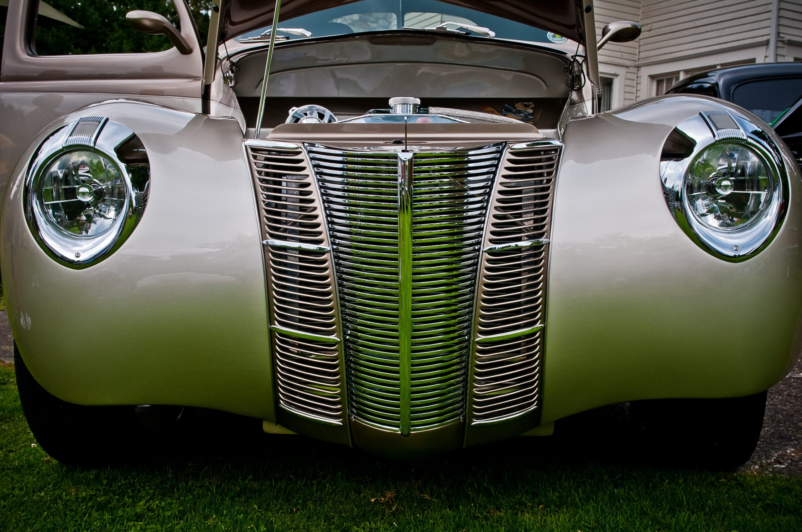 1940 ford deluxe thumper front close