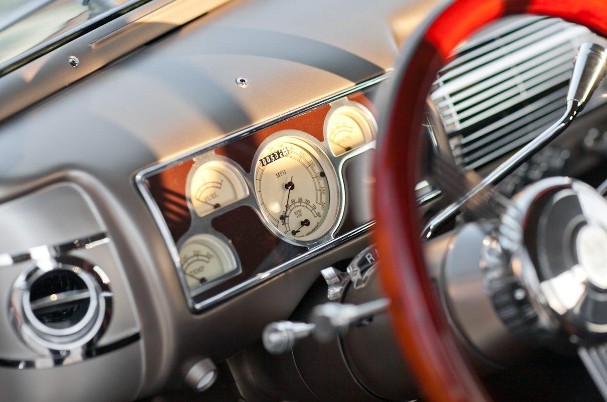 1940 ford deluxe thumper interior dash