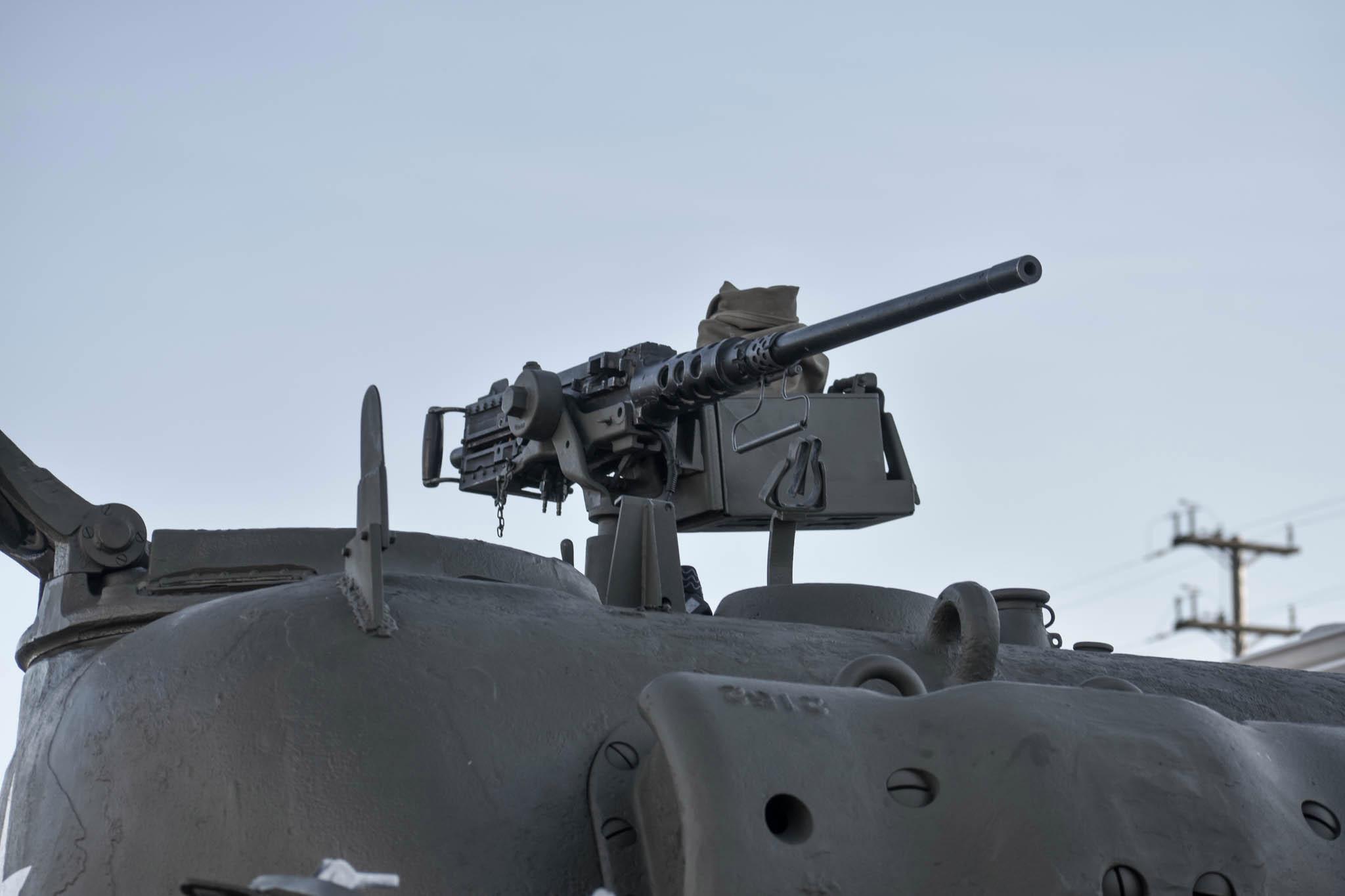 1943 M4A1 Sherman Tank machine gun mount