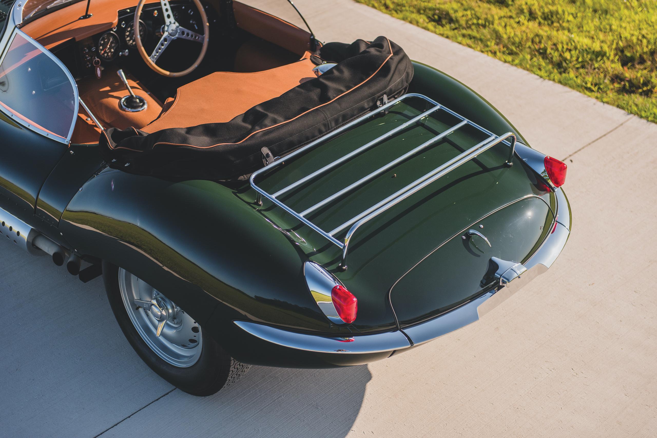 1957 Jag XKSS rear