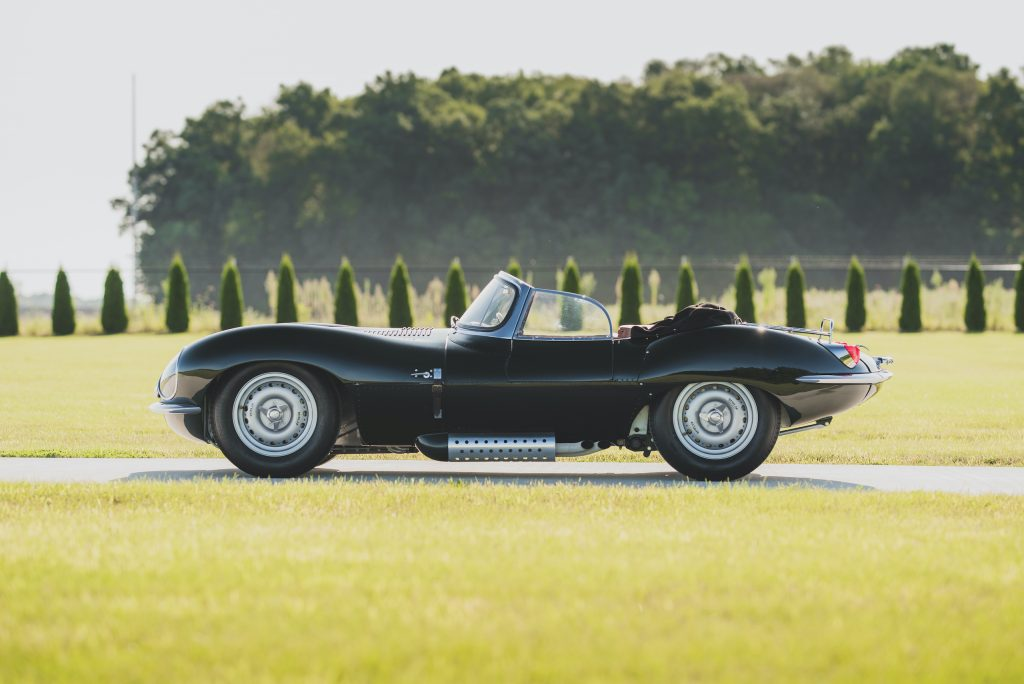 1957 Jag XKSS side profile