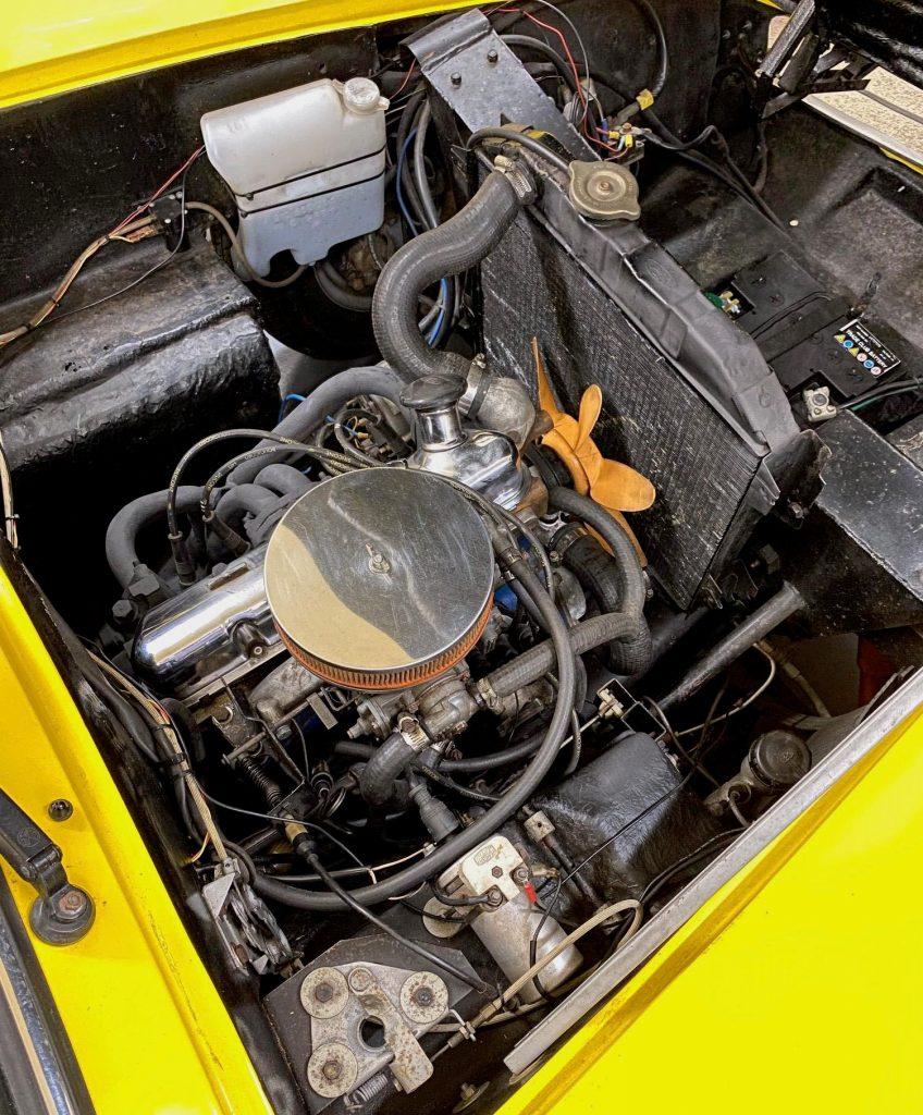 1964 GSM Flamingo - engine