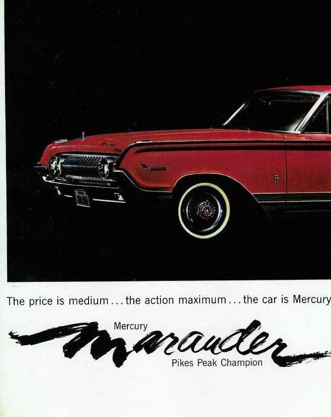 1964 Mercury Marauder Front