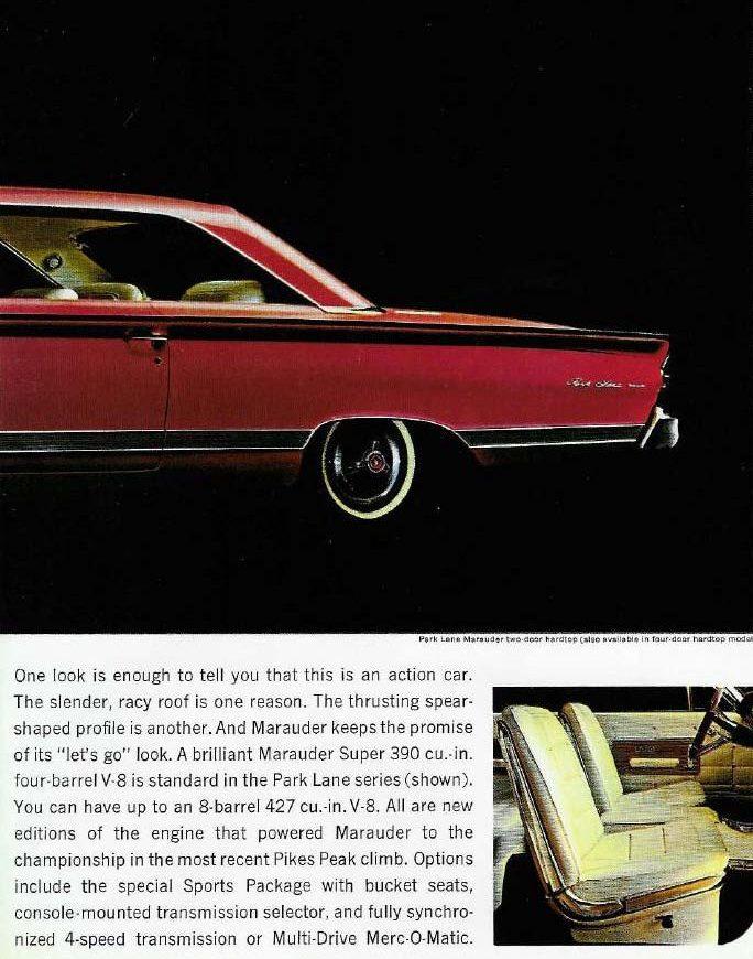 1964 Mercury Marauder Rear