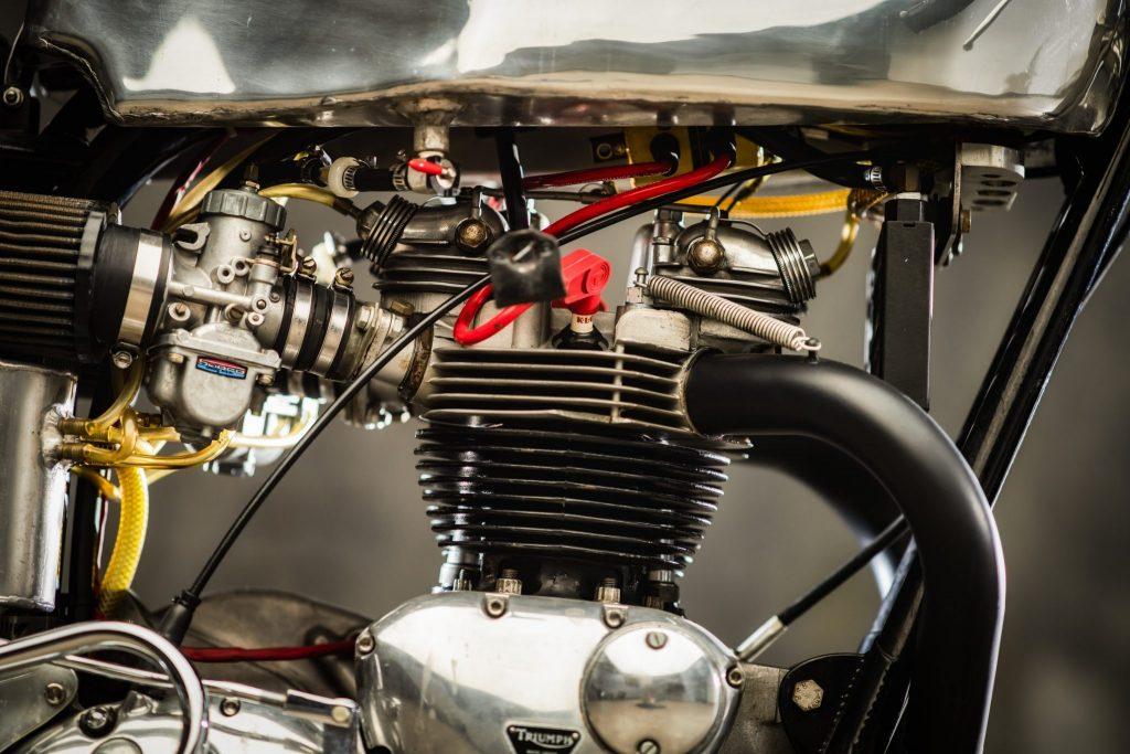 1972 Triumph trackmaster engine