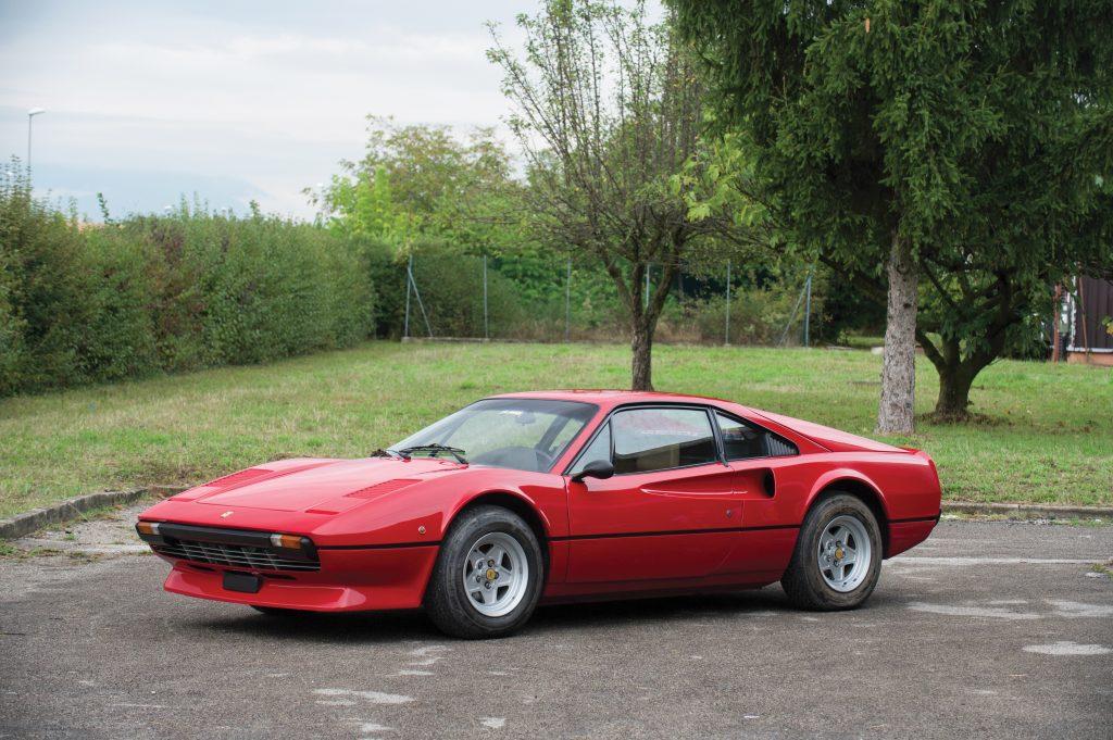 1980-Ferrari-308-GTB front three-quarter