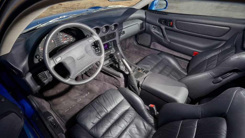 1992 Dodge Stealth RT Turbo interior