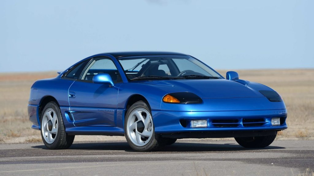 1992 Dodge Stealth RT Turbo front three-quarter
