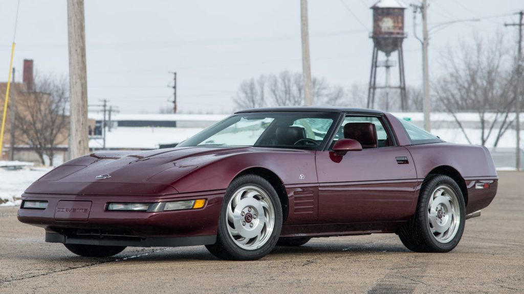 1993 C4 Corvette Front Three-Quarter