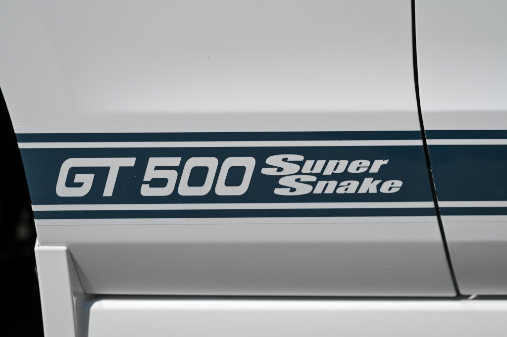 2014 GT500 Super Snake Prototype decal