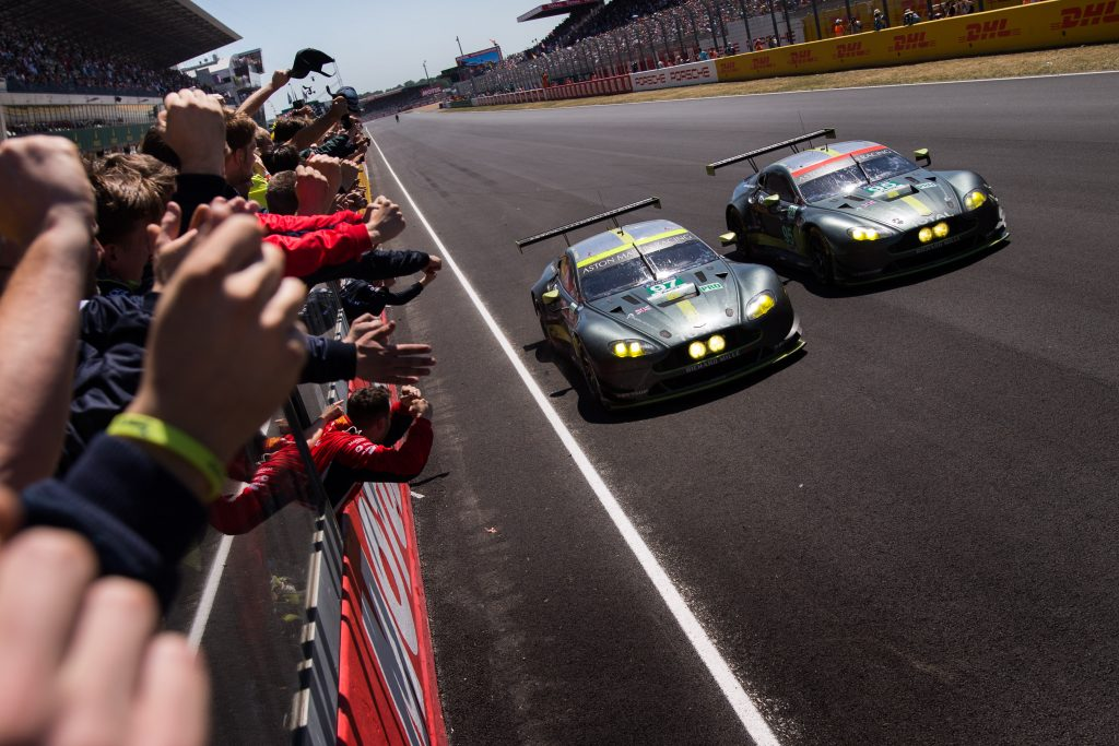 Aston Martin 2017 Le Mans win