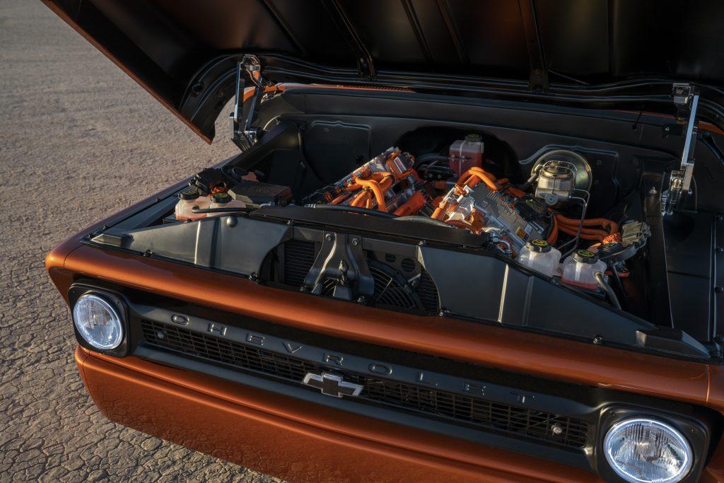 Chevrolet E-10 Concept engine
