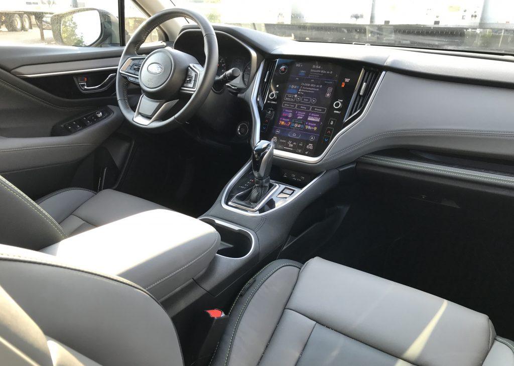 2020 subaru outback dash interior onyx edition xt