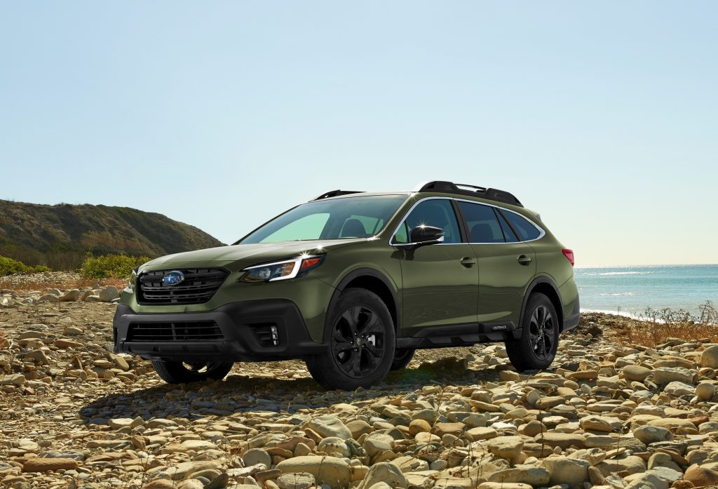 2020 subaru outback onyx edition xt front side