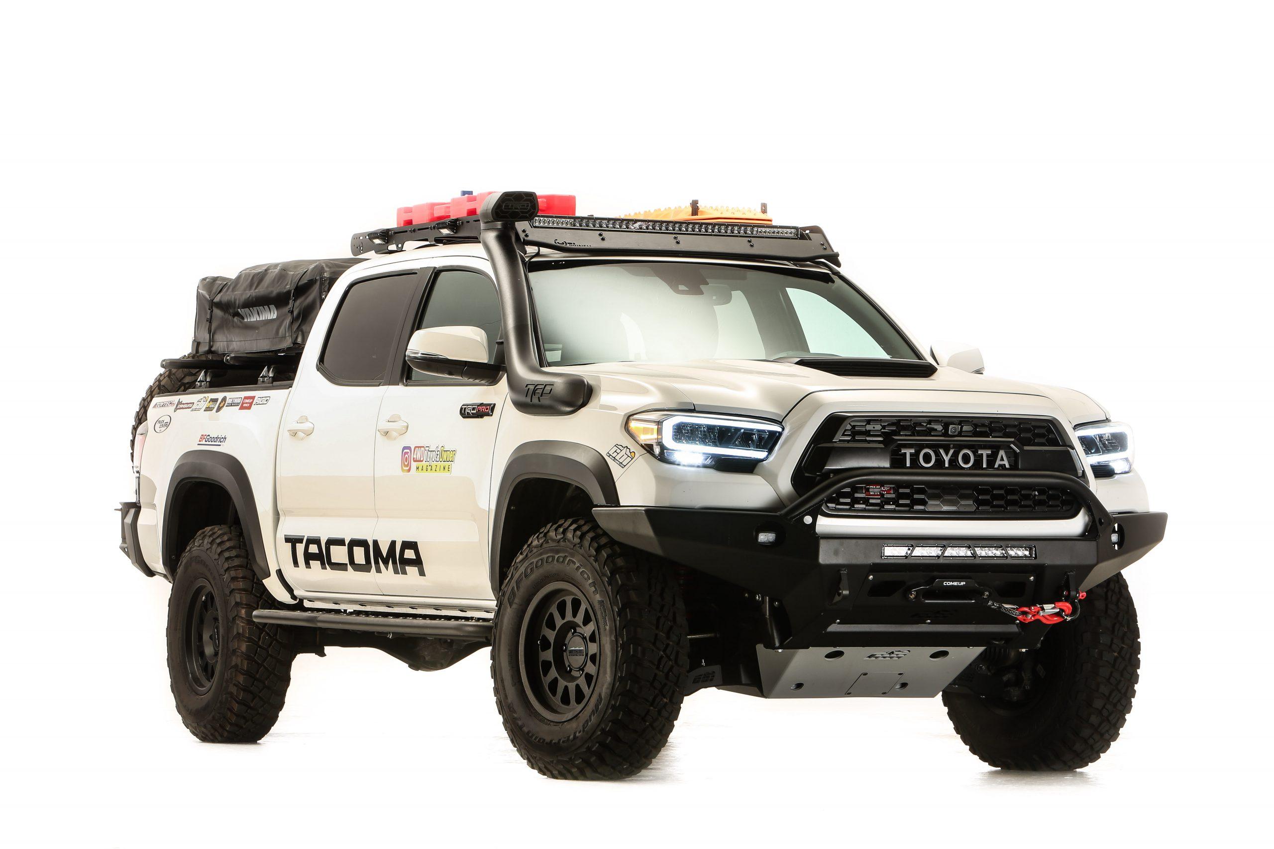 2020 Toyota Tacoma SEMA 360 overland front