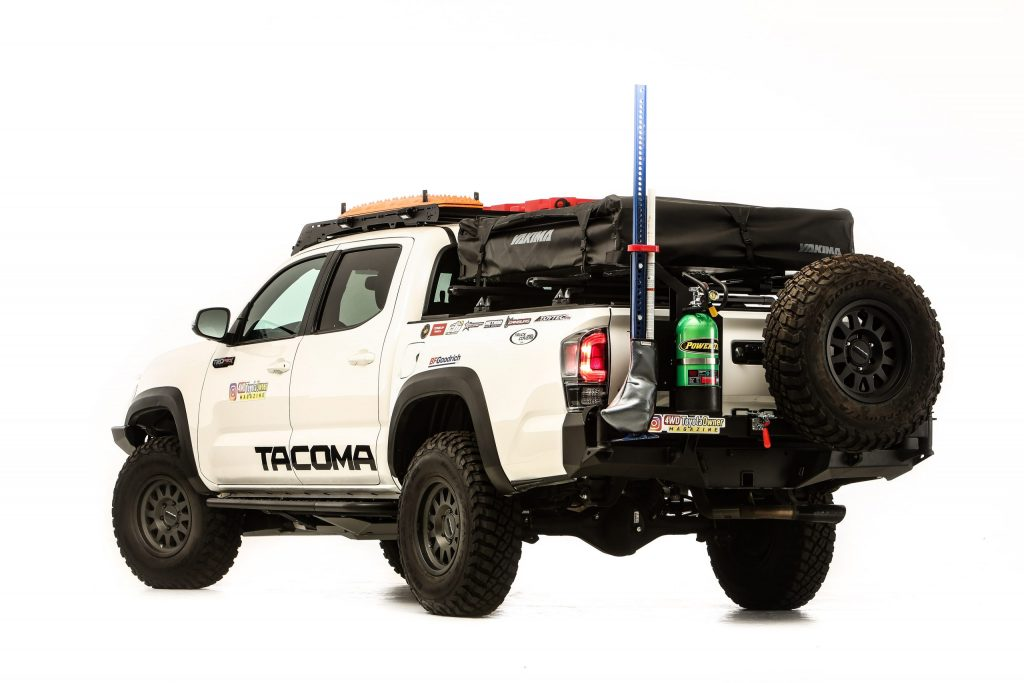 2020 Toyota Tacoma SEMA 360 overland rear
