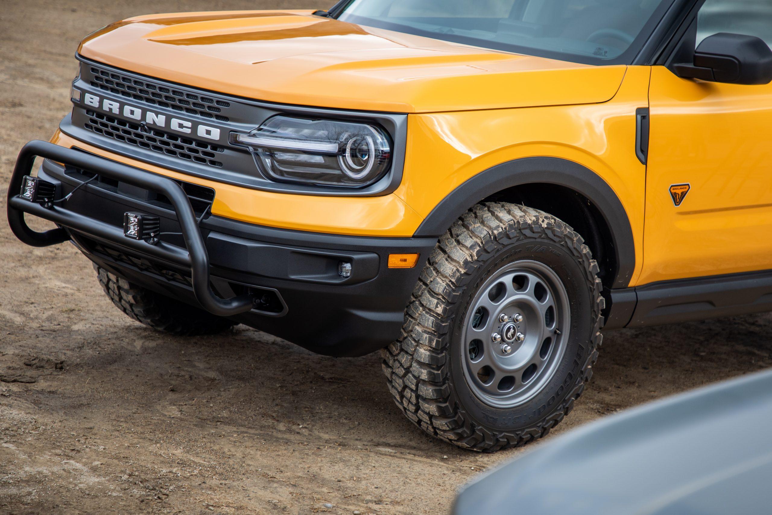 2021 Bronco Sport badlands bumper bash bar