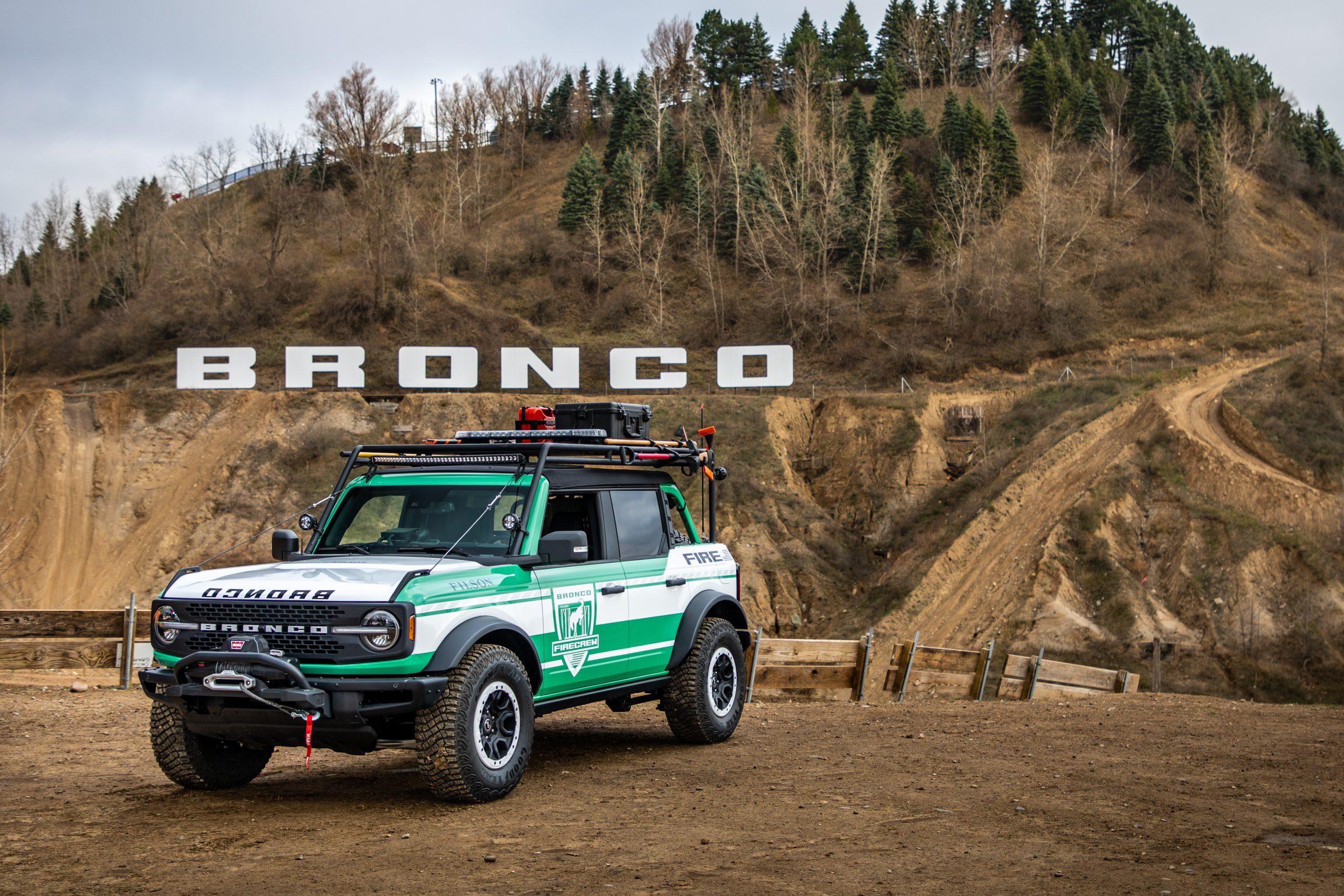 Ford Bronco Filson edition