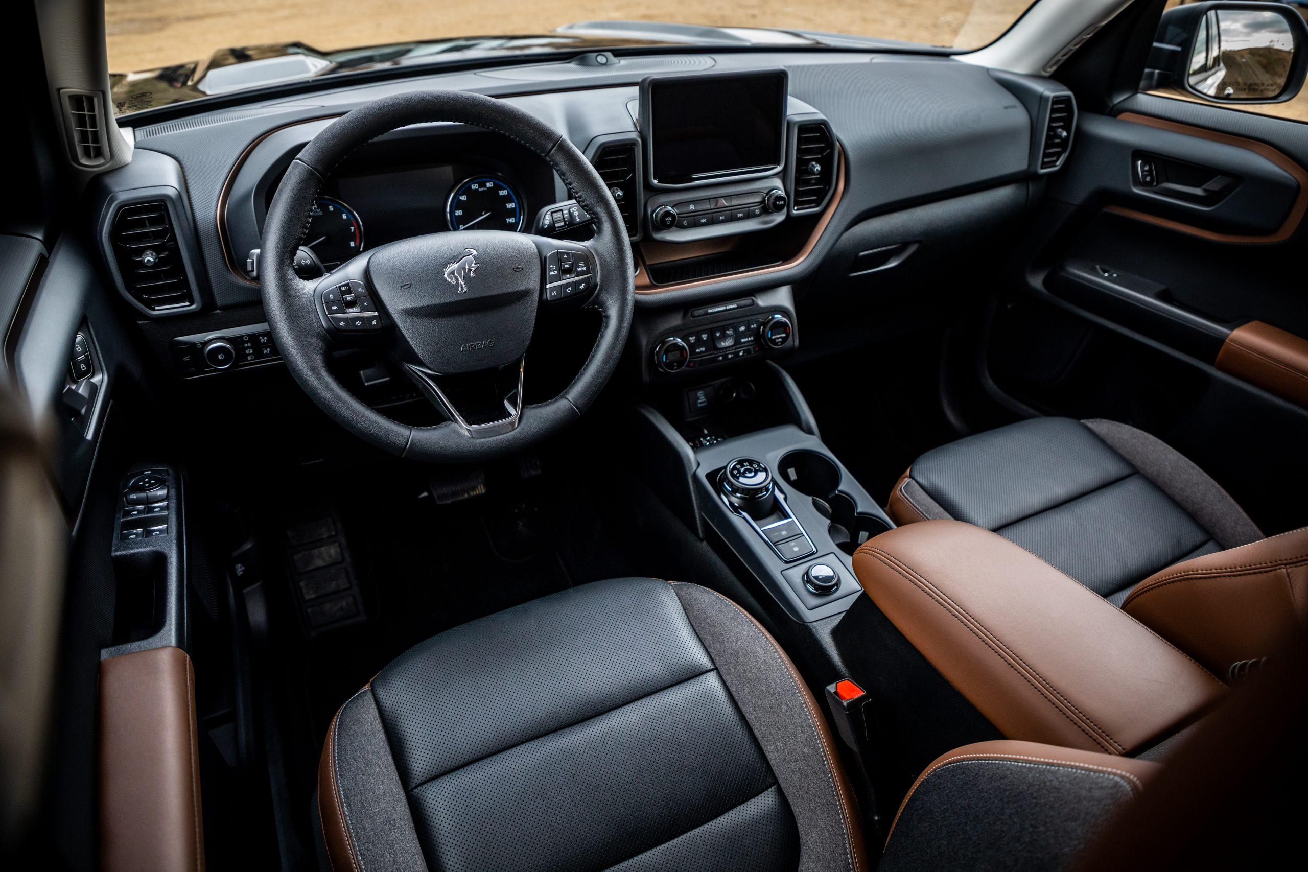 2021 Bronco Sport interior