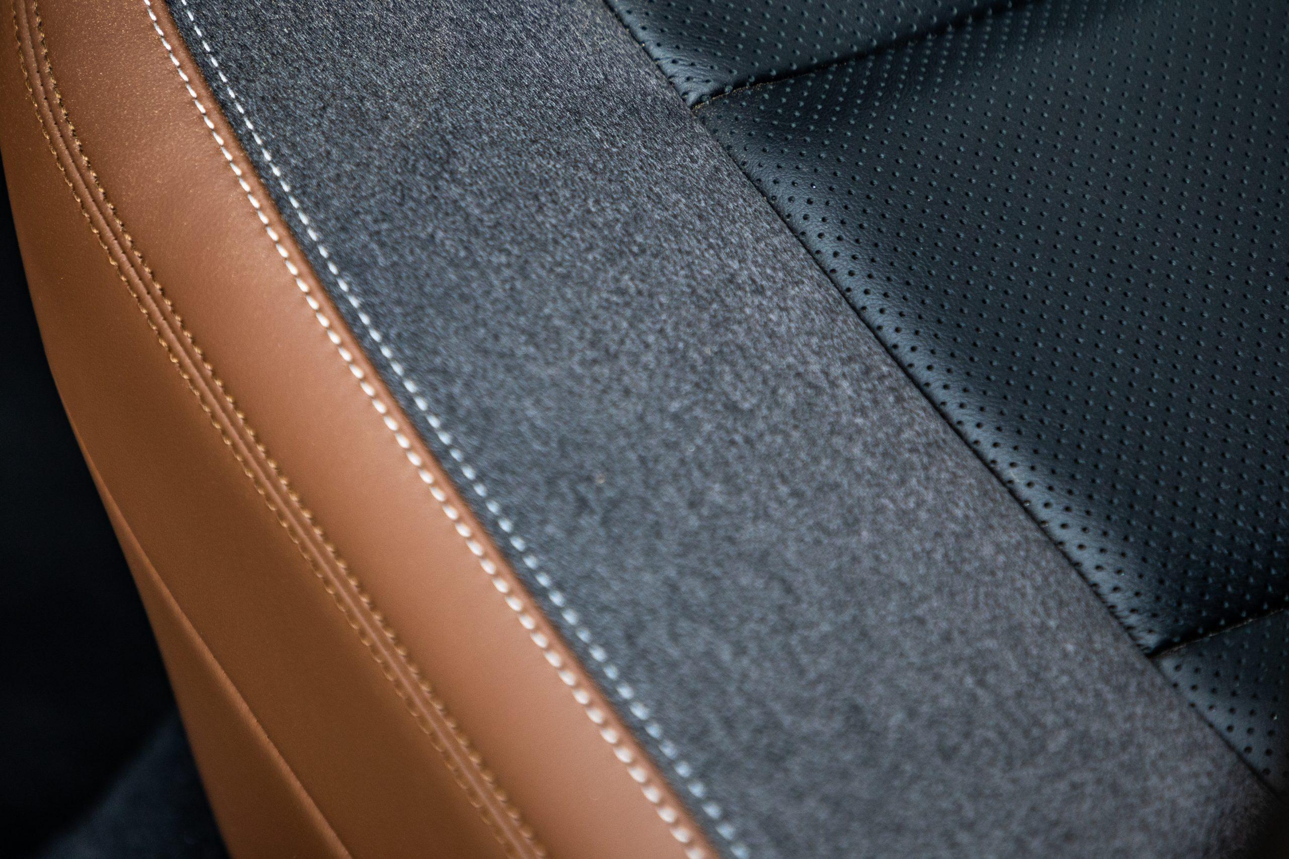 2021 Bronco Sport interior seat detail