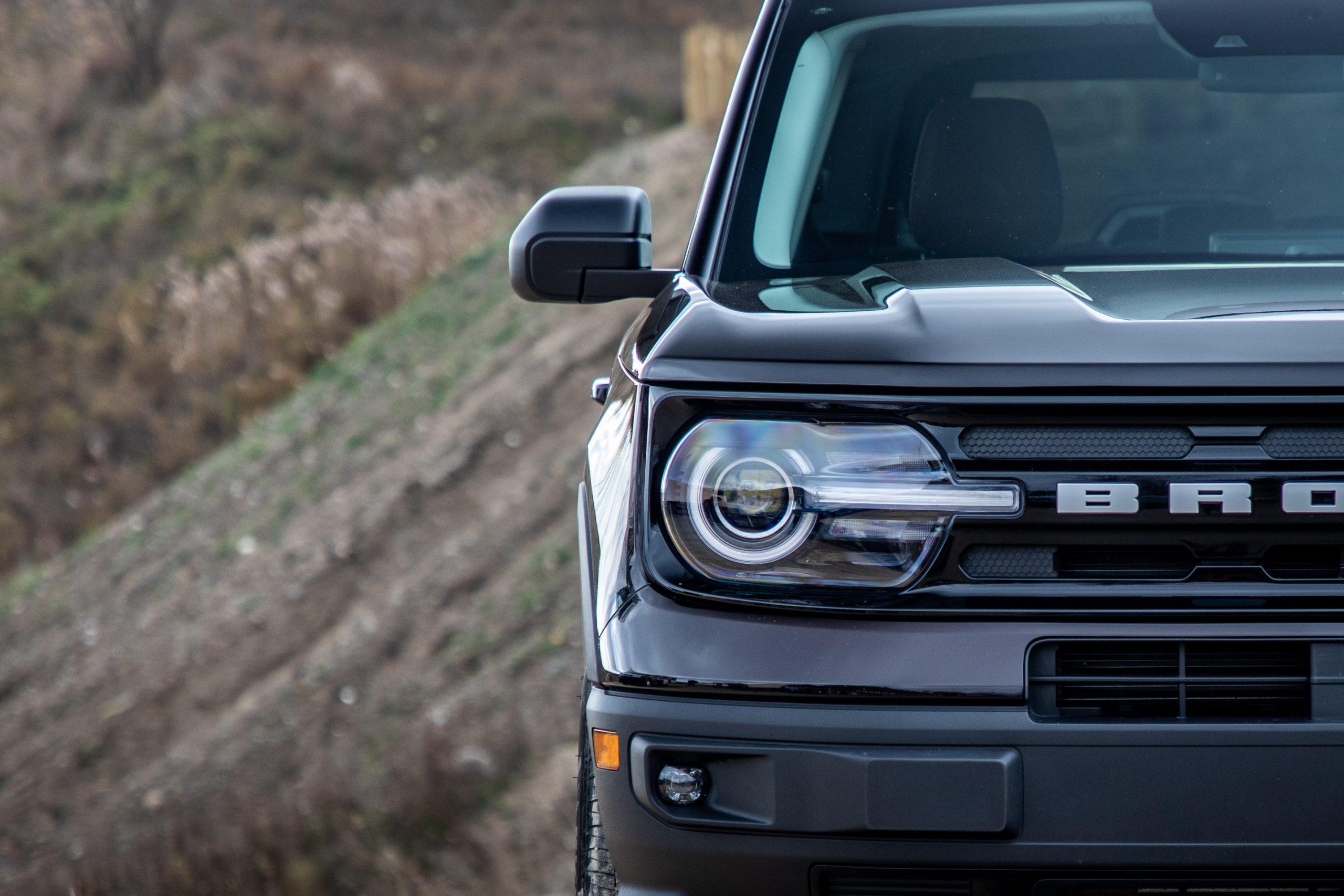 2021 Bronco Sport headlight