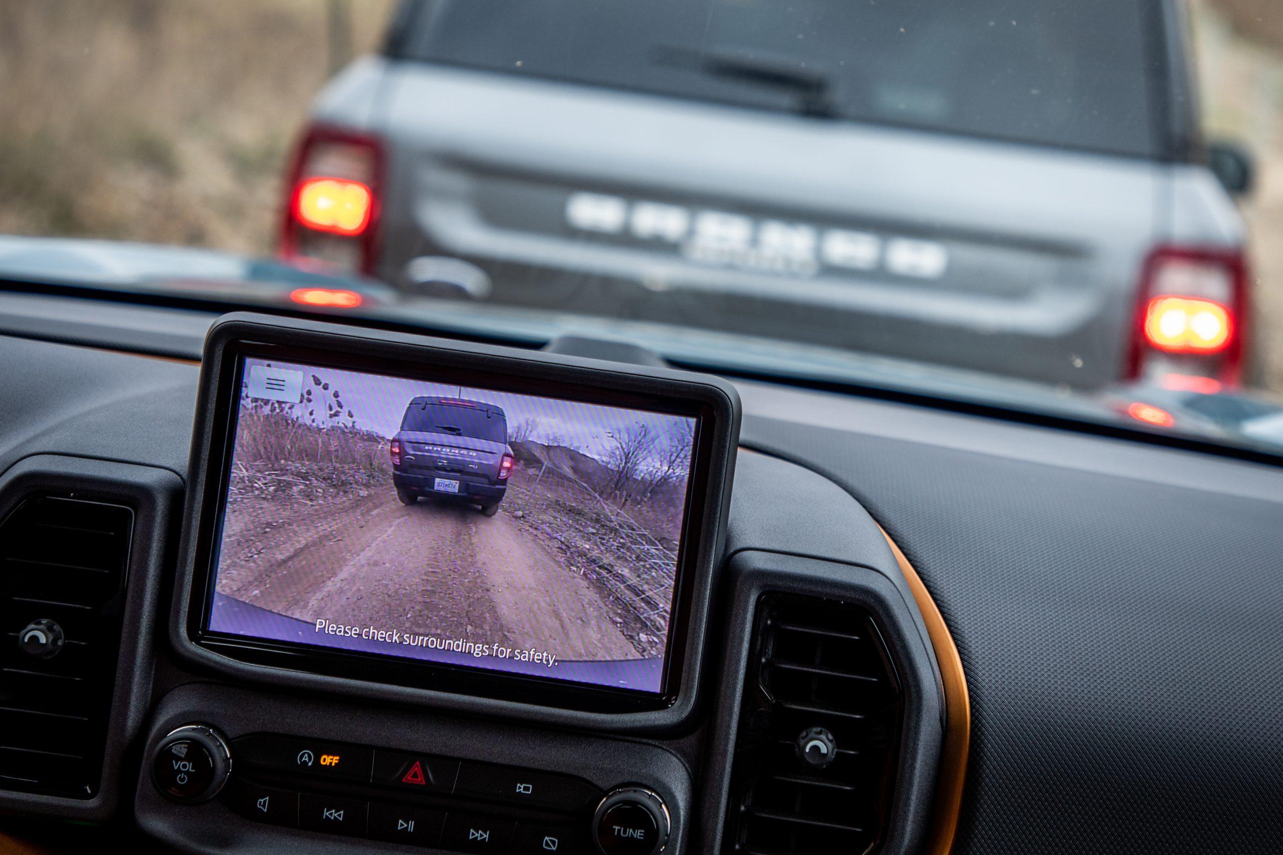 2021 Bronco Sport front camera demonstration